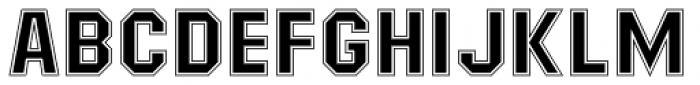 Masheen College Font UPPERCASE