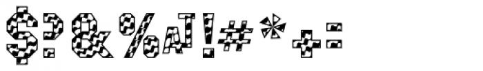 Masheen Flag Font OTHER CHARS