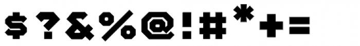 Mashine Bold Font OTHER CHARS