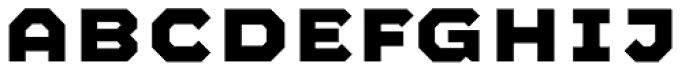 Mashine Bold Font UPPERCASE