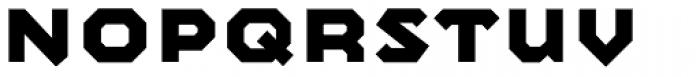 Mashine Bold Font LOWERCASE