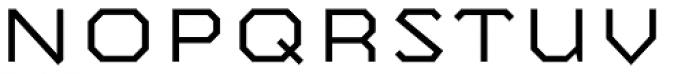 Mashine Light Font UPPERCASE