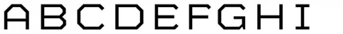 Mashine Light Font LOWERCASE