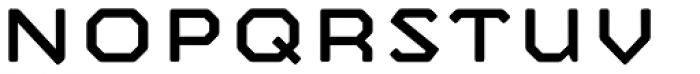 Mashine Rounded Font LOWERCASE
