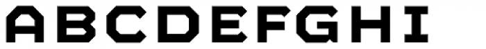 Mashine SemiBold Font LOWERCASE