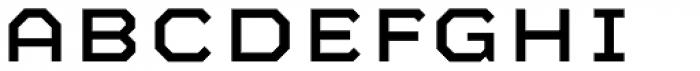 Mashine Font LOWERCASE