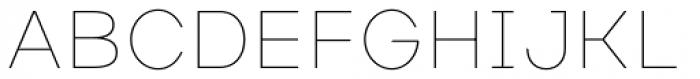 Masiva Thin Font UPPERCASE