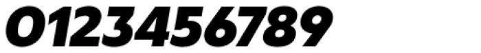 Masny Heavy Italic Font OTHER CHARS