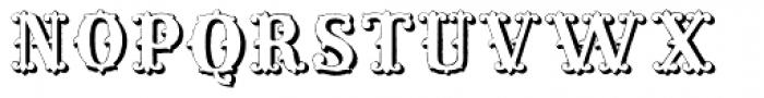 Massel Three Font UPPERCASE