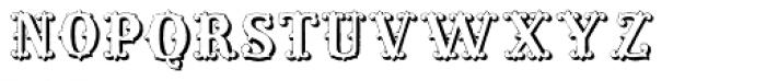 Massel Three Font LOWERCASE