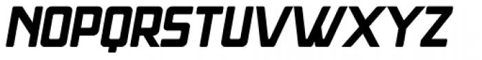Massiva GrotesQ Oblique Font UPPERCASE