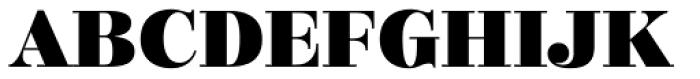 Mastadoni G5 Font UPPERCASE