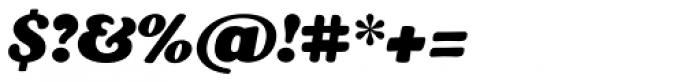 Masterfly Heavy Italic Font OTHER CHARS