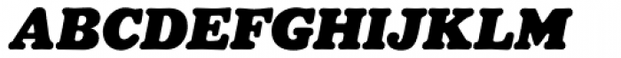 Masterfly Heavy Italic Font UPPERCASE