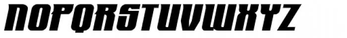 Mastermind BB Italic Font UPPERCASE