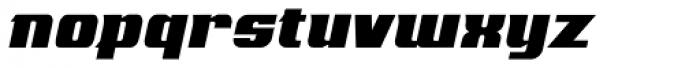 Mastermind BB Italic Font LOWERCASE