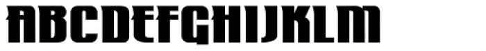 Mastermind BB Font UPPERCASE