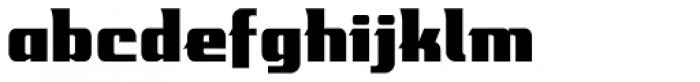 Mastermind BB Font LOWERCASE