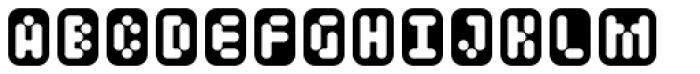 Mastertext Boxed Font UPPERCASE