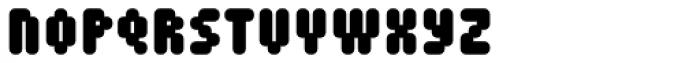 Mastertext Heavy Font UPPERCASE