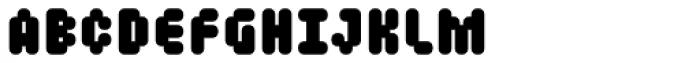 Mastertext Heavy Font LOWERCASE
