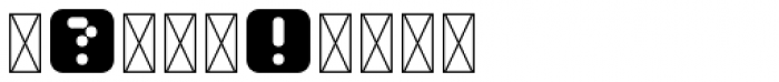 Mastertext Symbols One Font OTHER CHARS