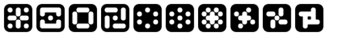 Mastertext Symbols Two Font OTHER CHARS