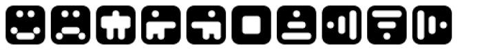 Mastertext Symbols Two Font UPPERCASE
