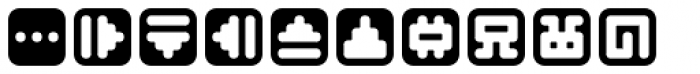 Mastertext Symbols Two Font LOWERCASE