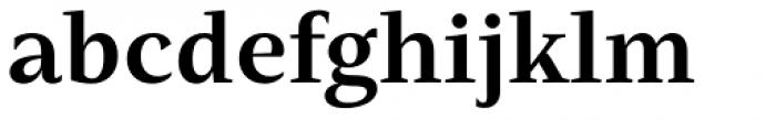 Mastro Text Bold Font LOWERCASE