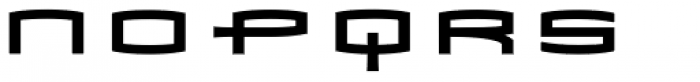 Mata Condensed Bold Font LOWERCASE