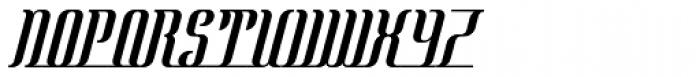 Mata Hari Parisienne Italic Font UPPERCASE
