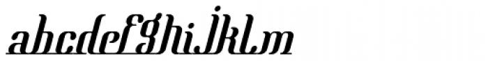 Mata Hari Parisienne Italic Font LOWERCASE