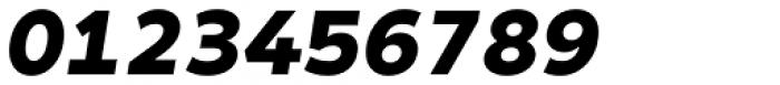 Matahari Sans Black Oblique Font OTHER CHARS