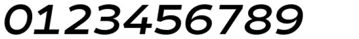 Matahari Sans Extended Bold Oblique Font OTHER CHARS