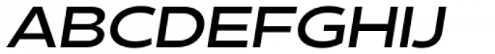Matahari Sans Extended Bold Oblique Font UPPERCASE
