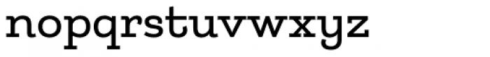 Matcha-Slab Font LOWERCASE