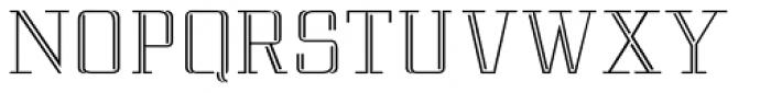 Matchpoint Light Font UPPERCASE