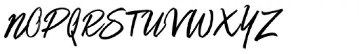 Matchstick Font UPPERCASE