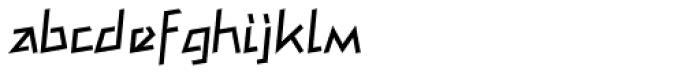 Mateo Pro Roman Font LOWERCASE