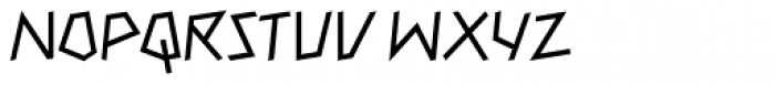 Mateo Roman Font UPPERCASE