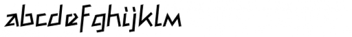 Mateo Roman Font LOWERCASE