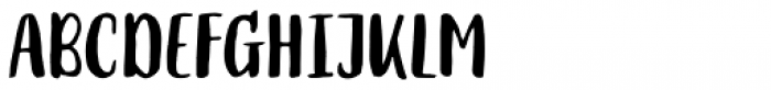 Mates Malty Marker Font LOWERCASE