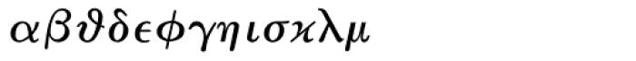 Math & Technical 10 Font LOWERCASE