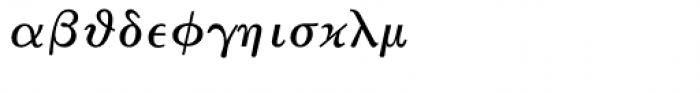 Math & Technical 11 Font LOWERCASE