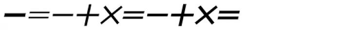 Mathe Symbols SH Regular Font OTHER CHARS
