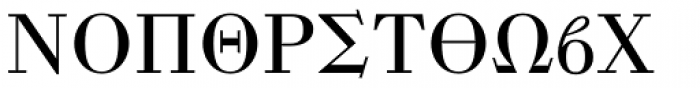 Mathematical Pi 1 Font UPPERCASE