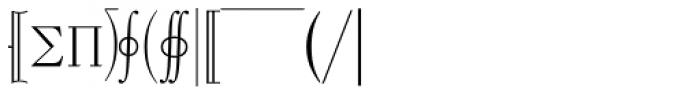 Mathematical Pi 3 Font UPPERCASE