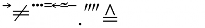Mathematical Pi 5 Font OTHER CHARS
