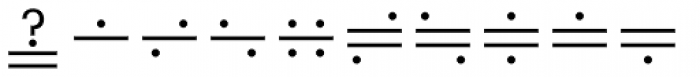 Mathematical Pi 6 Font OTHER CHARS